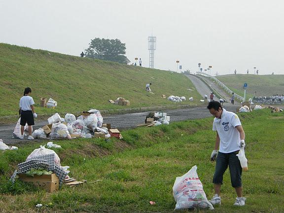 花火大会 2015 ゴミ