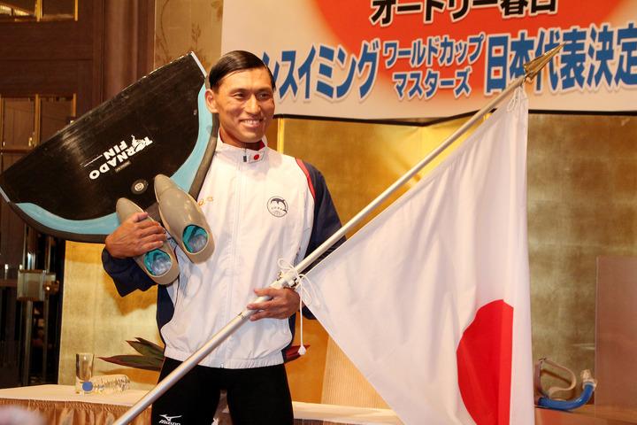 フィンスイミング日本代表メンバー春日の金メダル獲得確率を検証