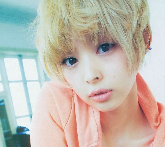 最上もがの髪型アレンジ術!小顔効果抜群な金髪ショート12選!