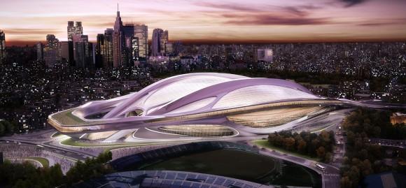 新国立競技場デザイン問題でザハ・ハディド氏への違約金が判明!